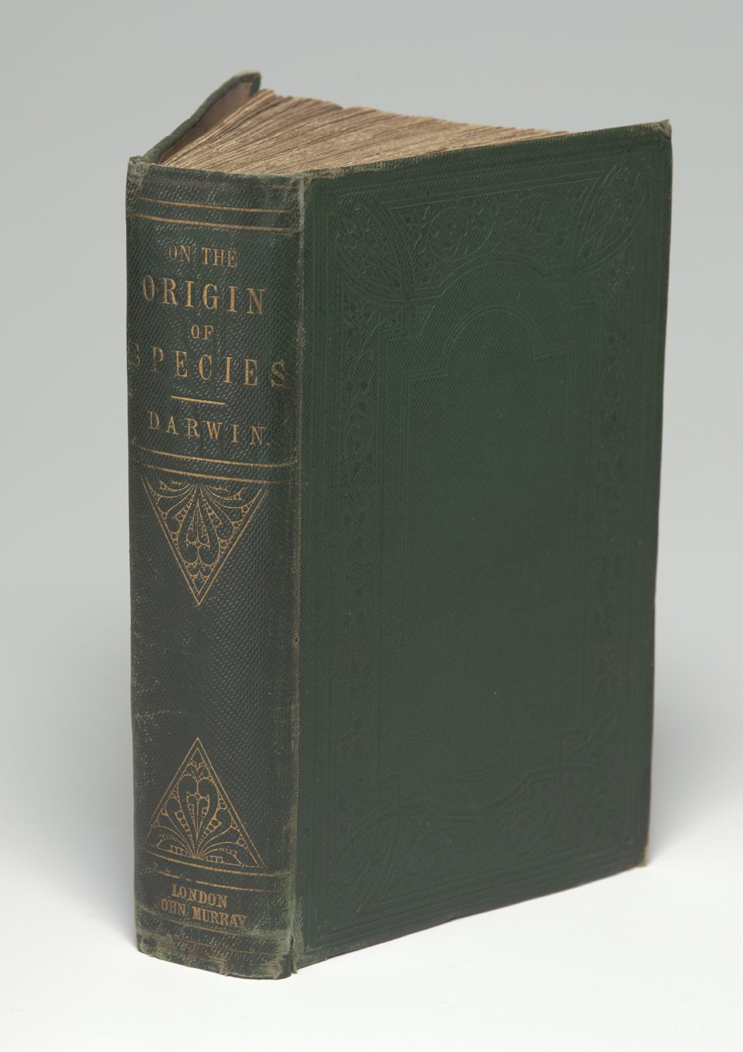 Alfred Russel Wallace's copy of Origin of species, 1859